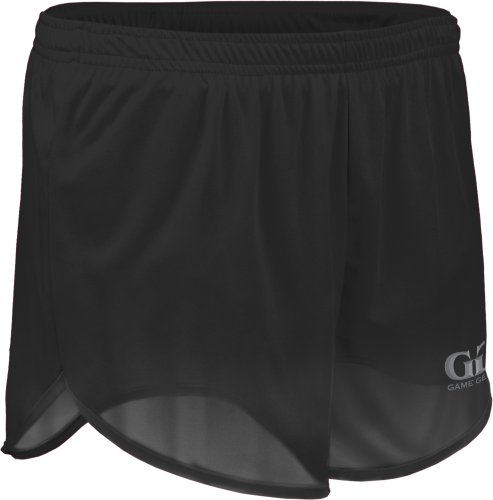 Game Gear Men's Solid Color Athletic Running Short with Inner Brief