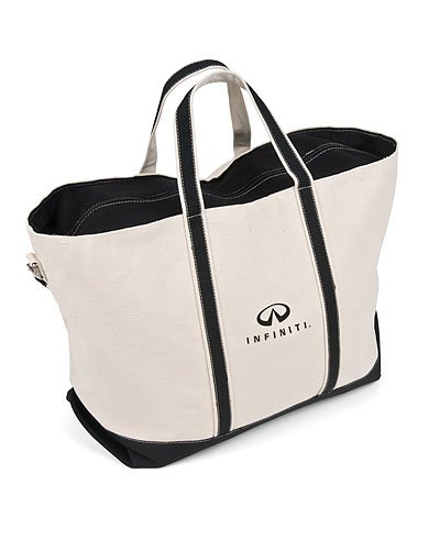 Infiniti Canvas Tote Bag