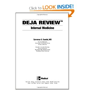 Deja Review Internal Medicine 2nd Edition PDF