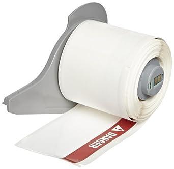 Etiquetas con el peligro de encabezado, Rojo En Blanco (100 etiquetas