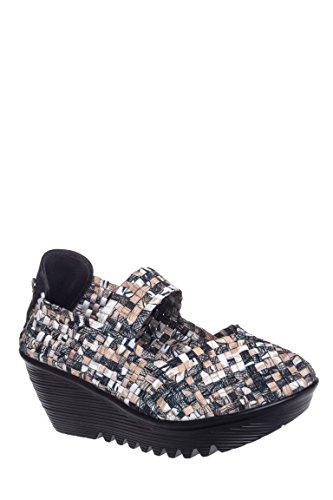 Lulia Casual Mid Wedge Sandal