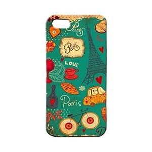 BLUEDIO Designer 3D Printed Back case cover for Apple Iphone 4 / 4S - G2236