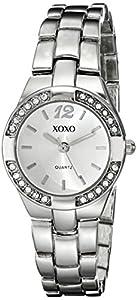 XOXO Women's XO109 Silver Dial Silver-tone Bracelet Watch