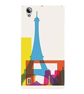 PrintVisa Paris Modern Art Design 3D Hard Polycarbonate Designer Back Case Cover for VivoY15S