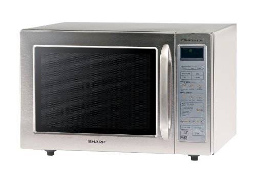 Sharp R98STMA Digital Combi Microwave Oven Stainless Steel 40L 900W