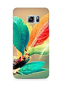 Amez designer printed 3d premium high quality back case cover for Samsung Galaxy S6 Edge Plus (colourful peatls)
