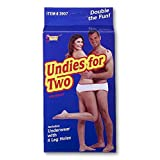 Undies for Two (New Box) (Color: White, Tamaño: One Size)