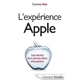 L'exp�rience Apple: Les secrets d'un service client d'exception