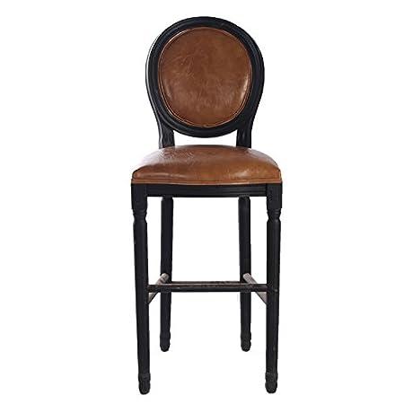LQK MOBILI-Vintage in legno massiccio sedie,E,48*49*120cm