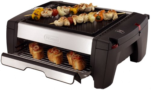 Delonghi Bq100 Indoor Grill And Smokeless Broiler O