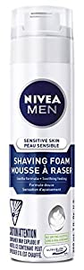 NIVEA MEN Sensitive Skin Shaving Foam 200ml