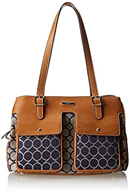 Nine West Anchors Away Satchel,Blue Multi,One Size