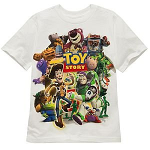 Disney Organic Collage Toy Story Tee for Boys