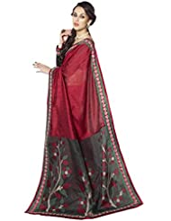 Triveni Trendy Pallu Worked Lace Bordered Saree 30020A
