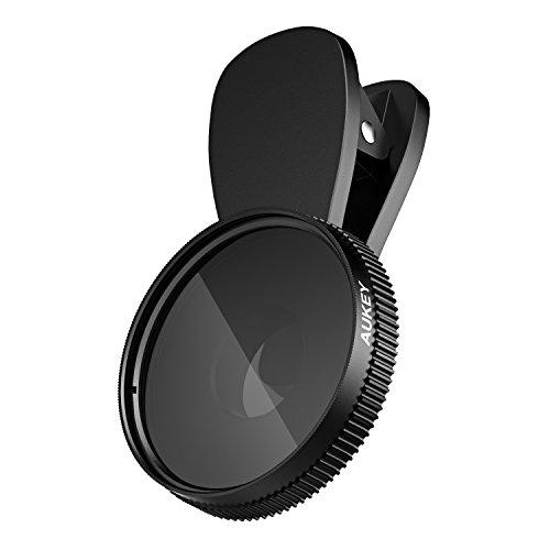 AUKEY Filtre CPL Polariseur Objectif Smartphone Clip - on pour iPhone 6 / 6 plus / 6s / 6s Plus, iPad, Samsung, Wiko, d'autre Mobile et Tablette