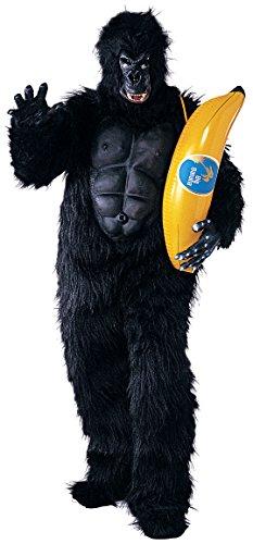 Rubie's Costume Co Men's Gorilla Mascot Costume with Chest Piece, Multi, Standard
