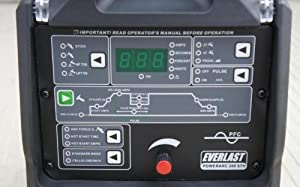 Everlast PowerArc 280STH Digital TIG Stick Pulse Welder, Green from Everlast Power Equipment