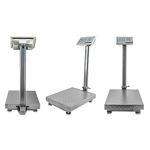 Houseables Industrial Platform Scale 600 LB x .05, Digital Shipping Price Computing Postal Scale (Electric Time Stamp Machine compare prices)