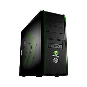 Cooler Master NV-334-KWN1-GP Elite 334 nVidia Edition ATX, MATX Mid Tower Case