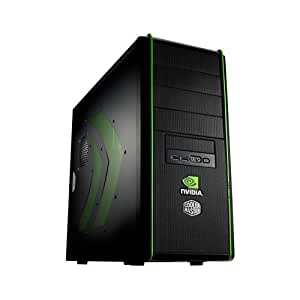Cooler Master NV-334-KWN1-GP Elite 334 nVidia Edition ATX, MATX Mid Tower Case