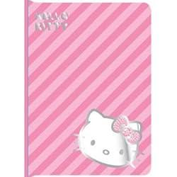 Hello Kitty Portfolio Striped Case for iPad Mini - Pink