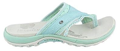 Women's Merrell, Hollyleaf toe thong sandal MINT 5 M