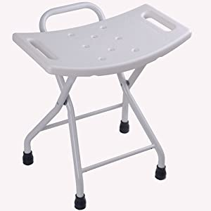 Amazon.com: Non-Slip Folding Shower Chair Bath Stool Seat Tub