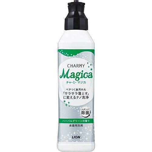 チャーミーマジカ 食器用洗剤 ハーバルグリーンの香り 本体 230ml