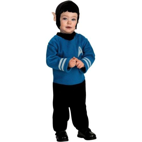 Star Trek Spock Infant Costume Size: Infant 6-12 (Baby Spock Costume)