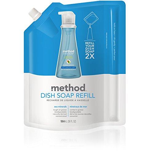Method Gel Dish Pump Refill, Sea Minerals, 36 Ounce (Usa Soap Dish compare prices)