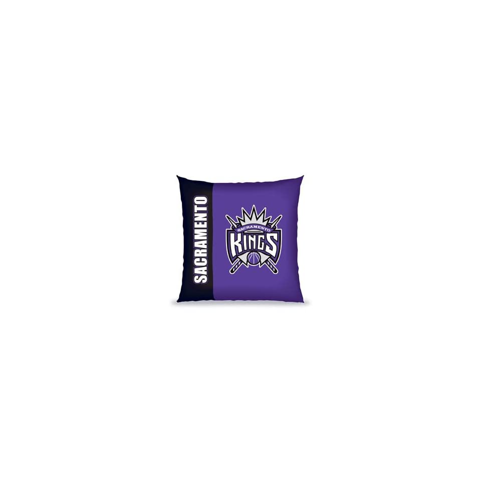 NBA 27 Vertical Stitch Pillow Sacramento Kings   Basketball