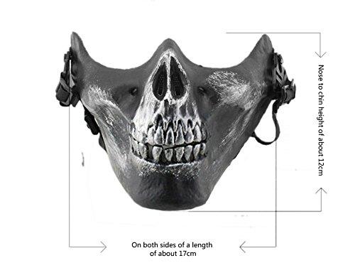 YX-chasse-de-ski-crne-Masque-de-squelette-Jeu-Paintball-Protger-Gear-CS-extrieur-DIY-Creative-M03-Masque-de-protection-Demi-Visage-crne-6-couleurs