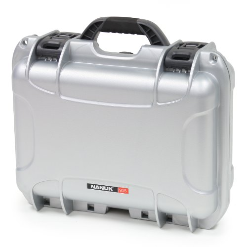 Nanuk 915 Case with Padded Divider (Silver)