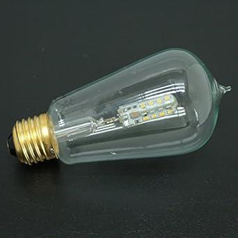 3w Long Lasting Vintage Thomas Edison Led Bulb E27 110v Spiral Energy Saving Bulb Corn Wick