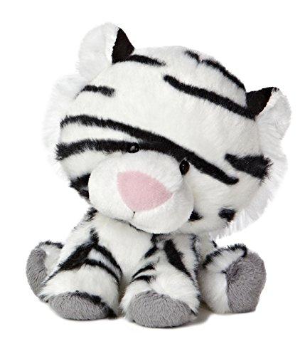 "Aurora World Wobbly Bobblee White Tiger Plush, 6"" Tall"