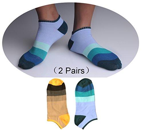 GJSocks Men's Active Socks Best Cotton Active Socks For Men (2 Pair) (Bloody Bolt Kit)