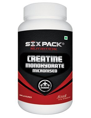 Six Pack Nutrition Creatine Monohydrate 300 Grams Unflavoured