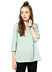 Raindrops Women's Top(1207A005C-Green-XL)
