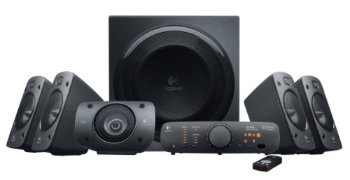 Logitech Inc Z906 5.1 Surround Sound Spkrs