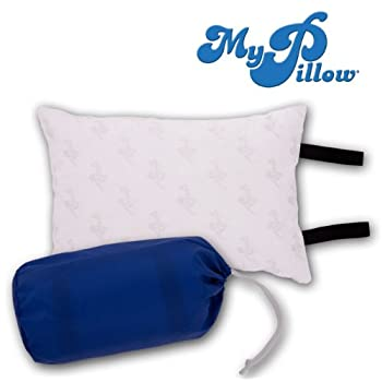 Set A Shopping Price Drop Alert For My Pillow - My Travel Pillow with blue carrying case