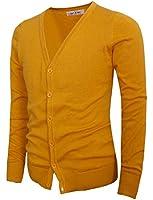 Tom's Ware Mens Stylish Fashion V-Neck Button Up Cardigan