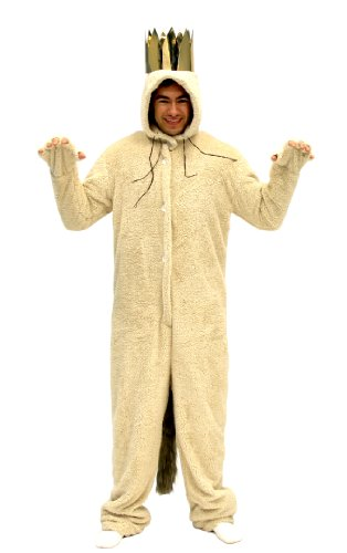 [Where The Wild Things Are Max Wolf Adult Costume (Adult X-Large)] (Wild Man Costumes)