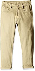 Cherokee Boys' Trousers (268320144_Beige_5 - 6 years)