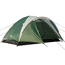 Semoo Double Layer ,3-4 Person, 3-Season Lightweight Camping/Traveling Tent with Carry Bag,