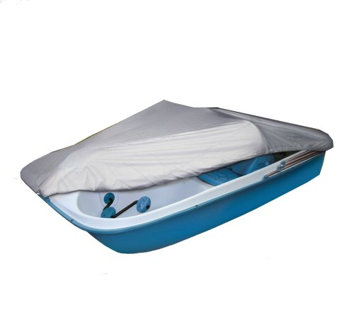 Classic Accessories Silver-Tech Polyester Pedal Boat Cover (Silver, Fits 3 or 5 Person Boat)