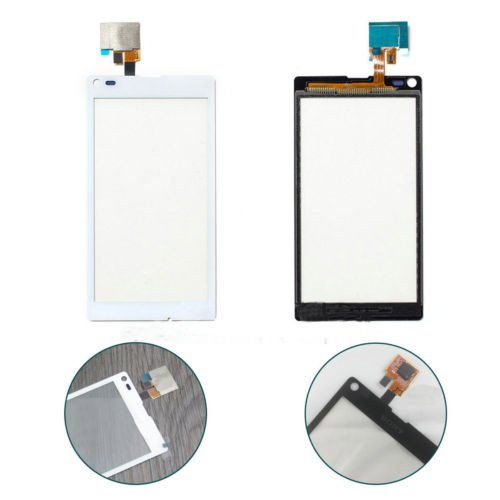 Topscreen2012(Tm)-Touch Screen Digitizer For Sony Xperia L S36H C2105 C2104 Replacement Repair Part (White Touch Screen Only)