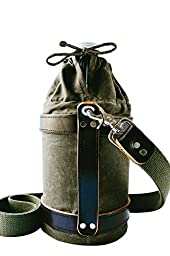 Greff Handcrafted Growler Carrier - The Woodsman (Olive Green)