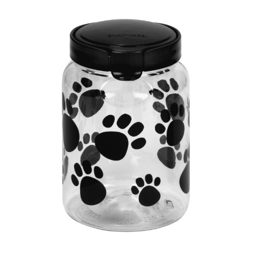 Pet Canister 9.8 Cup Dark Grey Paw