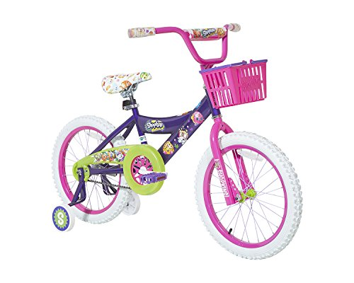Shopkins Girls Dynacraft Bike PurplePinkGreenWhite 18