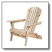 Wood Adirondack Folding Chair